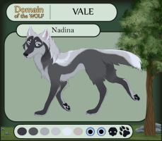 Dotw Vale Application - Nadina - *RETIRED* by FrostedCanid