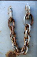 Rusty chain by enframed