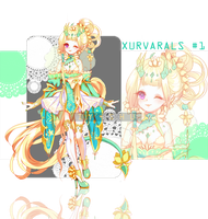 XURVRAL #1 ADOPTABLE AUCTION [CLOSED] by Iy-shu