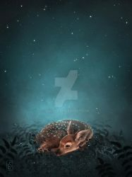 Fawn by lucyys