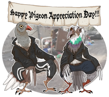 PIGEONS PIGEONS PIGEONS nice by FunnyGoatPerson