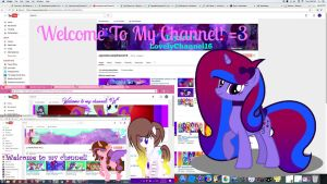 Pass it on! ( Welcome to my channel ) xD by SpeedPaintJayvee12