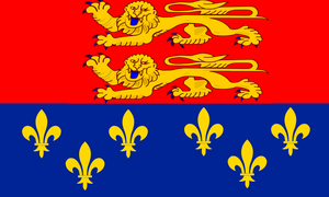 The Grand War: Flag of Norman France by ArthurDrakoni