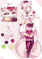 [Set Price] Pink cat (CLOSED) by Nyesth
