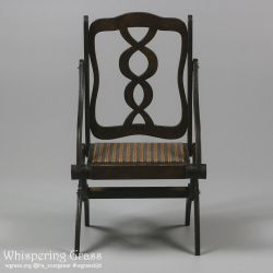 Foldable Art Nouveau Armchair by scargeear