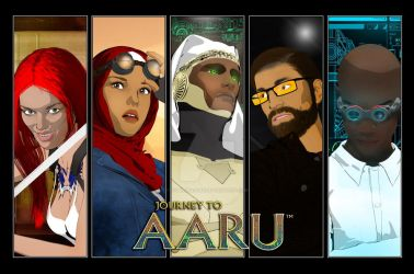Journey to Aaru character poster by Cybermage86