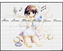 Anime music Horario de clases by candybubblesweety