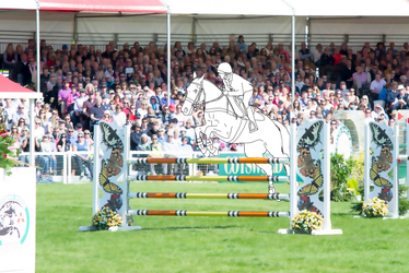 Eventing | Showjumping 1 (Free Lineart) by HKW1994