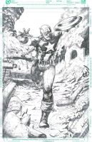 Captain America by ashkel