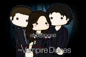 Vampire Diaries by NickyToons