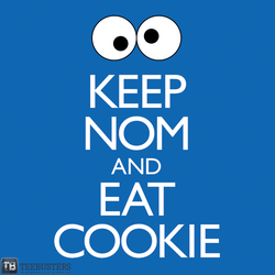 'Keep Nom and Eat Cookie' PolySciGuy by Teebusters