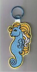 Seapony Embroidered Patch by bewilderness