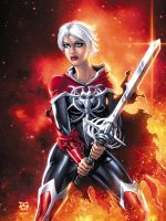 Phyla-Vell Martyr with Blond by mechangel2002