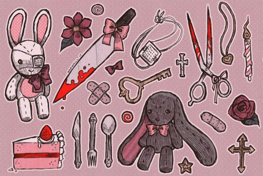 Bunny Knife by DrawKill