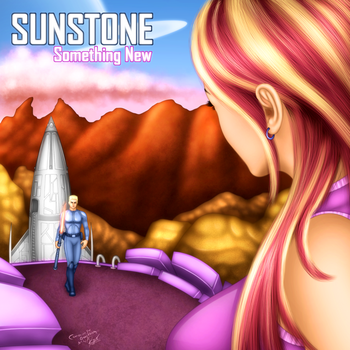Sunstone Album Cover Commission by ronggo
