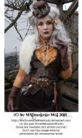 Steampunk Lady Stock 004 by MADmoiselleMeliStock
