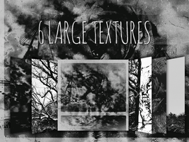 6 Large Textures Pack by mr-tiefenrausch