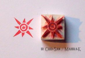 Crest of Courage - Stamp by Mahira-K