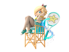 Courtside Rosalina by SoloBouquet