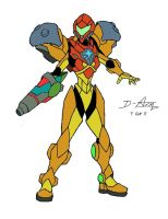 Samus Aran P.E.D. Suit by D-Arm