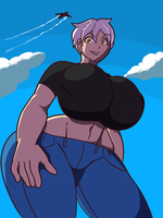 Lilith, enormous by sweetscentedcrescent