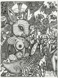 Rabbit in Wonderland by SommaDAT