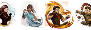 LOK:  The Four of them by Linnpuzzle