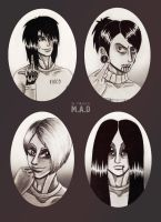 four by SheWasZombie