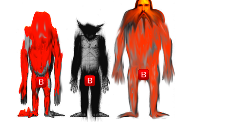 basically im obscure species of monky