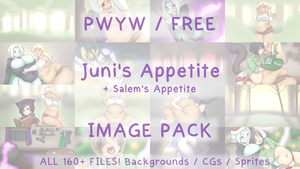 Juni's Appetite Image Pack - Free or PWYW by Cakehoarder
