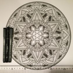 New design for colouring book 2 by Mandala-Jim