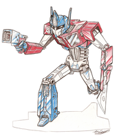 Optimus Prime by Transypoo