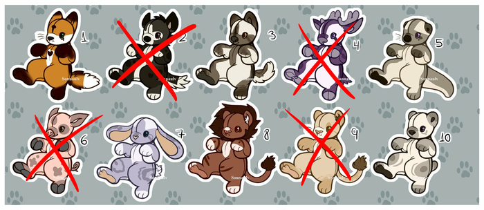 Adoptables (CLOSED) by Sonna-Adopts