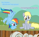 Dinky can't fly by fonypan