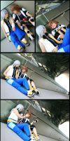 Riku, Give me a smile by Evil-Uke-Sora