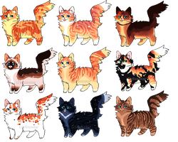 Cat Adopts 14 [300pts/3$ - OPEN} by Chintzy-Adopts