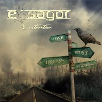 Exsagor - Destination cd cover by szafasz