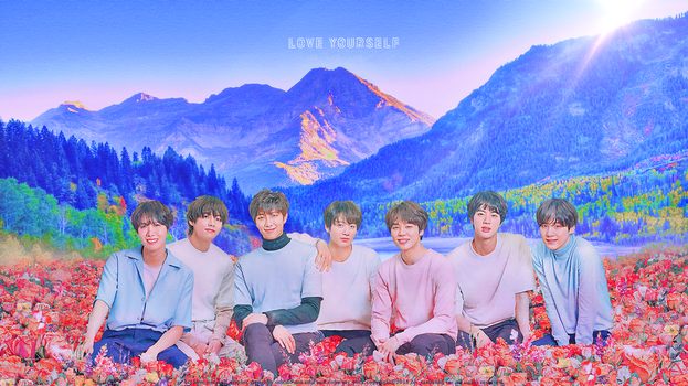 BTS Love yourself Wallpaper by Siguo