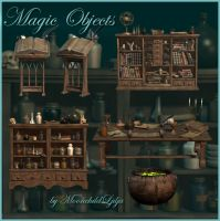 Magic Objects by moonchild-ljilja