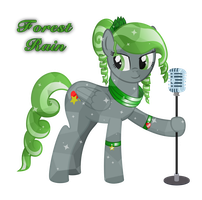 OC: Forest Rain (Crystal) by Colonel-Majora-777