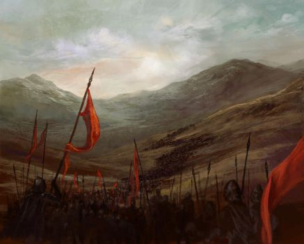The March by navate
