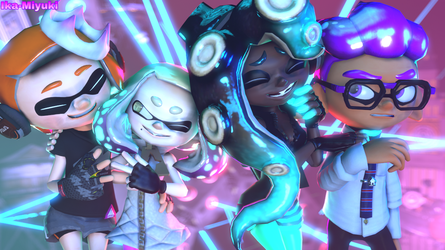 A Visit with Off The Hook! by Ika-Miyuki