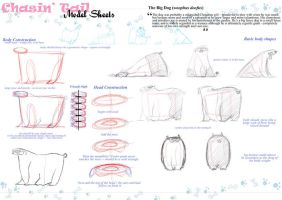 Chasin' Tail Model Sheet 01 by vimfuego