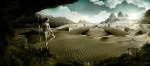 Looking at the desert by zepaulo