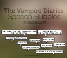 Bubble tvd Speech -Png by Inmyparadise