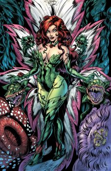 Poison Ivy Colors by CdubbArt