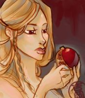 Persephone Contemplates by Midnight-cat