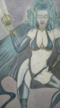 Lady Death from Julie Bell by jd63