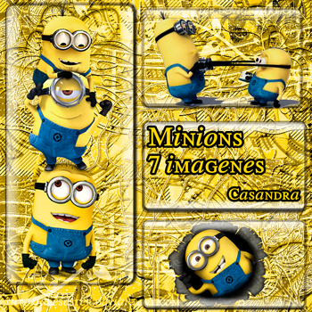 -Pack de Minions PNG by PaolaCasandra