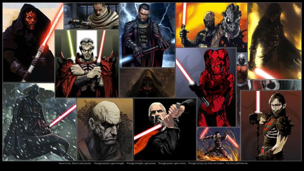 Dark Lords of the Sith by GT-Orphan